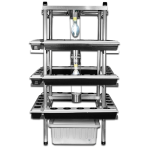 the buddha box vertical hydroponic system