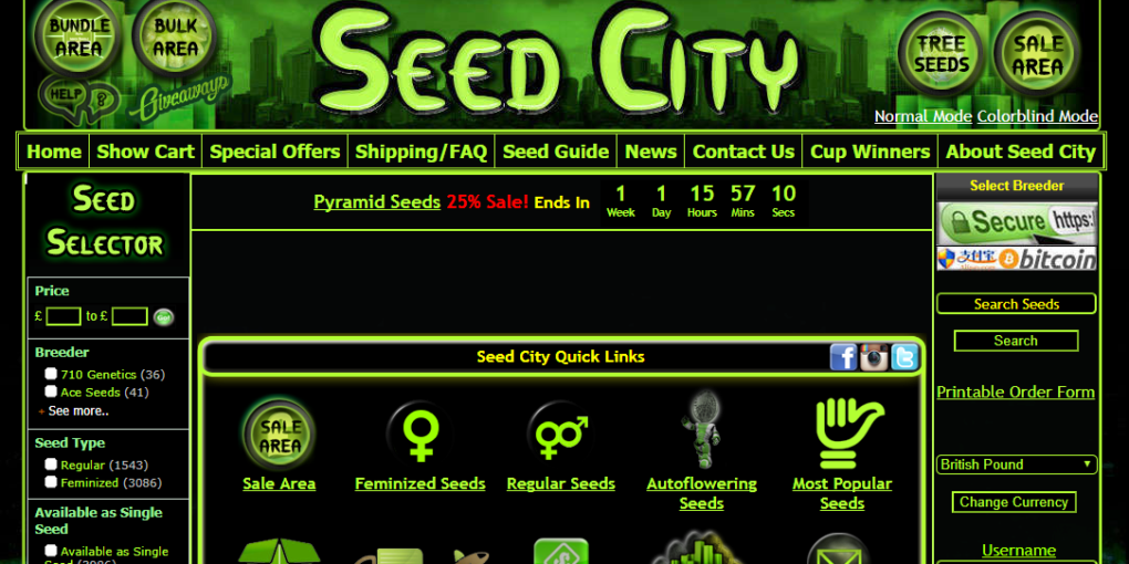 A Seed City Review