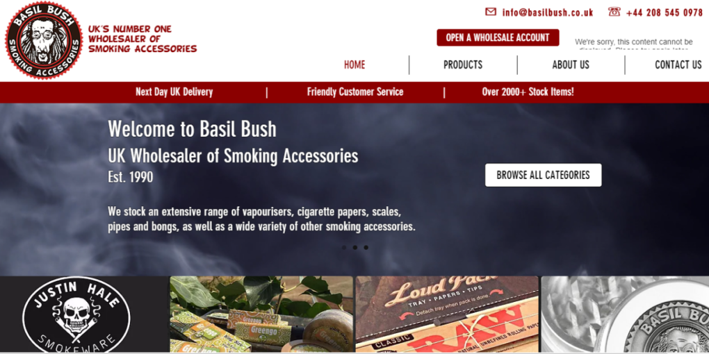 Basil Bush Ltd. Review